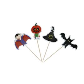 Halloween prikkertjes - set van 4
