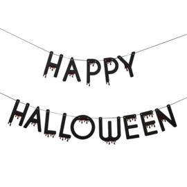 Blood-drip Happy Halloween letterslinger