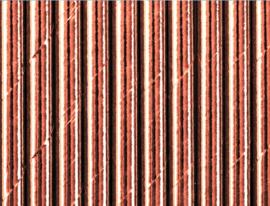 Papieren rietjes -rosé-goud - 10 stuks