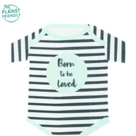 Servetjes Born to be loved jongen