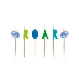 Dino ROAR verjaardagskaarsjes -  6 stuks