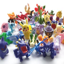 Pokemon mini poppetje zakje 24 stuks