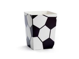 Popcorn doosjes Voetbal- 6 stuks