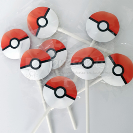 Pokeball lollie