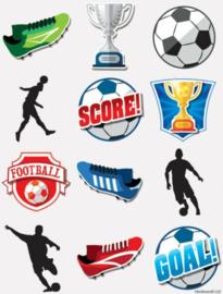 Voetbal tattoo 10+2 gratis