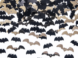 Halloween vleermuizen confetti