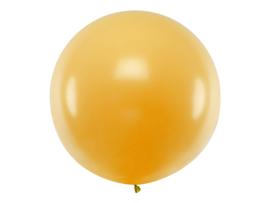 XXL ballon rond goud metallic 1 meter