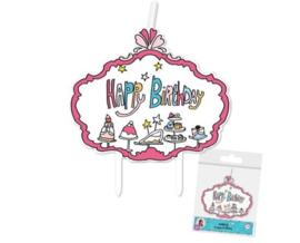 Jill verjaardagskaarsjes Happy Birthday