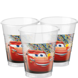 Cars drinkbekertjes 8 stuks