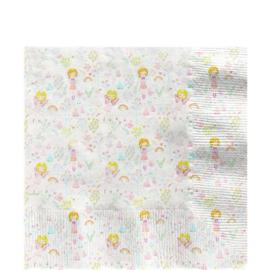 Prinses Feetje servetjes  - 16 stuks