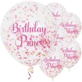 Disney prinsessen confetti ballonnen