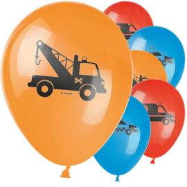 Redders op de weg ballonnen set