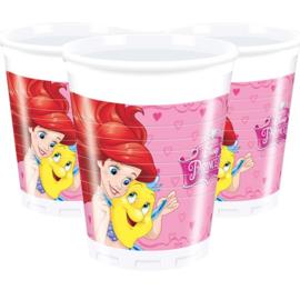 Disney Prinses bekertjes  - 8 stuks