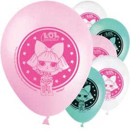 LOL Surprise ballonnen 8 stuks