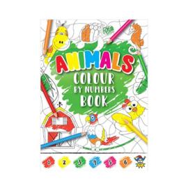 Kleuren op nummer kleurboekje