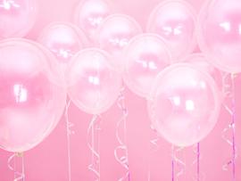 Ballonnen transparant- 10 stuks