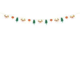 Kerst slinger Winter Forest luxe 170cm
