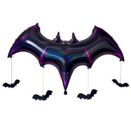 Reuze Vleesmuis  folie ballon 130x80cm - Let's get Batty
