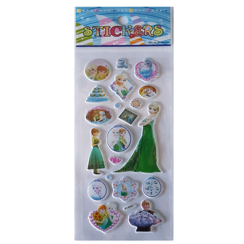 Frozen stickertjes