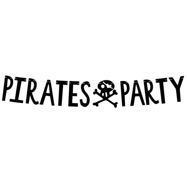 Piraten Happy Birthday letter slinger