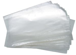 Zakjes klein transparant 17x8cm - 10 stuks