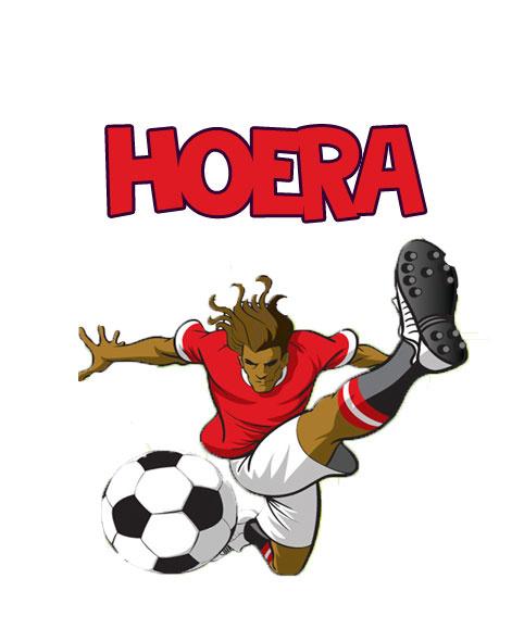 Traktatielabel Voetbal