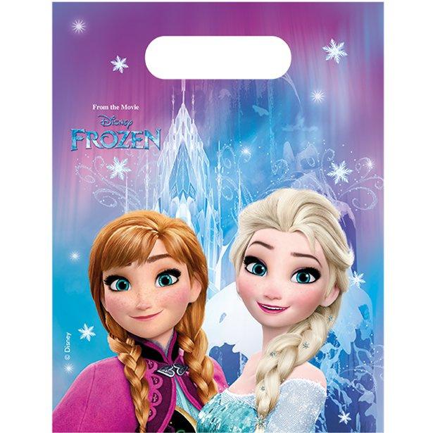 Frozen  uitdeelzakjes  per 6 stuks