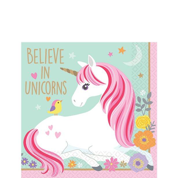 Unicorn servetjes