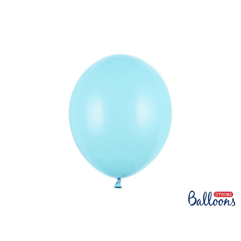 Ballonnen  pastel blauw - 10 stuks