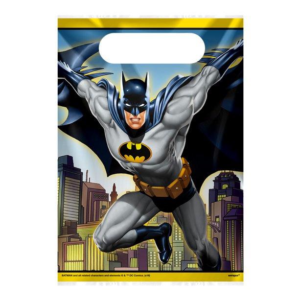 Batman uitdeel zakjes 8 stuks