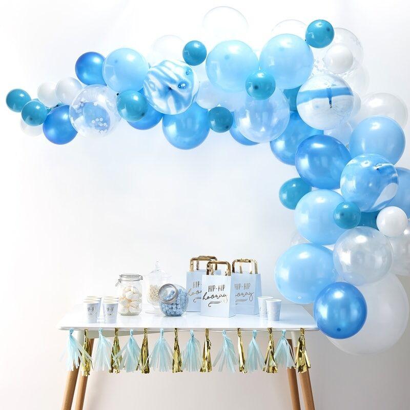 Ballonnenboog Blauw - 70 delig