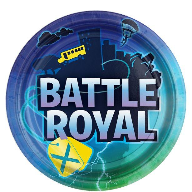 Battle Royal Fortnite bordjes - 8 stuks