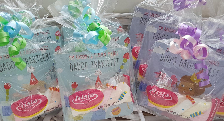 Didi en Dadoe uitdeelboekjes
