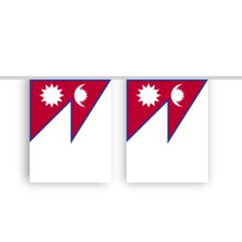 Vlaggenlijn NEPAL stof