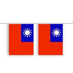 Vlaggenlijn TAIWAN stof