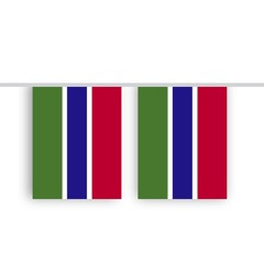 Vlaggenlijn GAMBIA stof