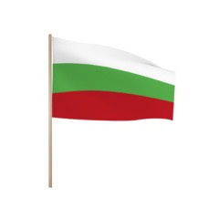 Zwaaivlaggetjes Bulgarije