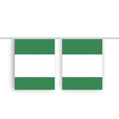 Vlaggenlijn NIGERIA stof