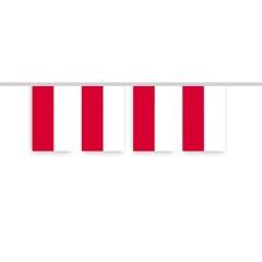 Vlaggenlijn POLEN of INDONESIE