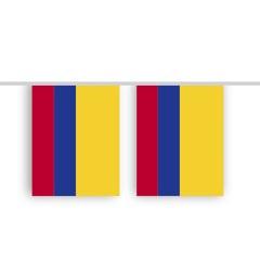 Vlaggenlijn COLOMBIA stof