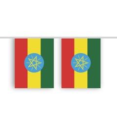 Vlaggenlijn ETHIOPIE stof