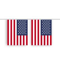 Vlaggenlijn USA stof