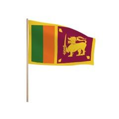 Zwaaivlaggetjes Sri Lanka