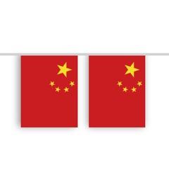 Vlaggenlijn CHINA stof