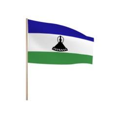 Zwaaivlaggetjes LESOTHO