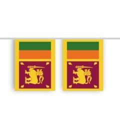 Vlaggenlijn SRI LANKA stof