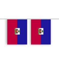 Vlaggenlijn HAITI stof