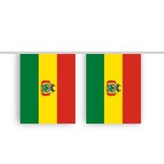 Vlaggenlijn Bolivia stof