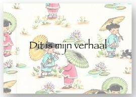 Kiekeboek Kimono Kids Parasol