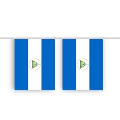 Vlaggenlijn NICARAGUA stof